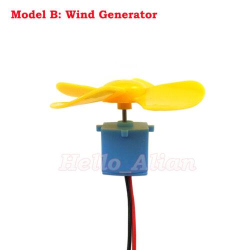 Small Mini Wind Turbines Generator Hydraulic Water Generator Student Project Kit