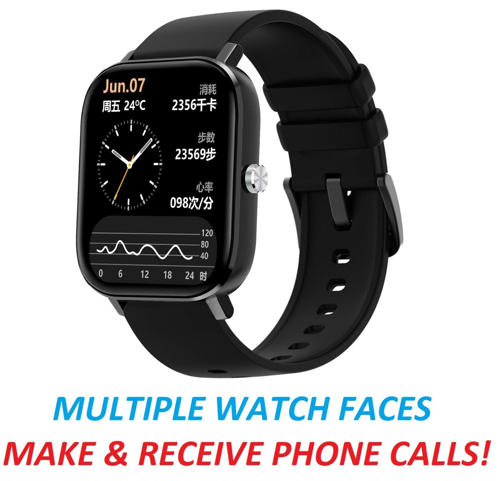 New Fitness Tracker Fitness Watch Heart Rate Monitor Smart Watches for Men Women