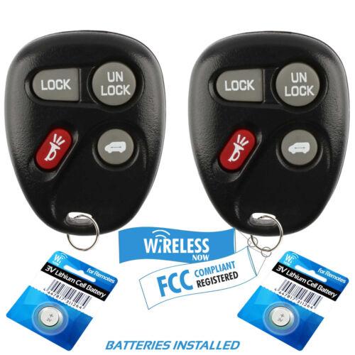2 Car Key Fob Keyless Entry Remote For 1997 1998 Pontiac Trans Sport