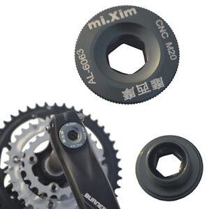 Gold Bicycle Crankset Crank Arm Bolt M20 Shimano Deore LX SLX XTR SAINT Ultra