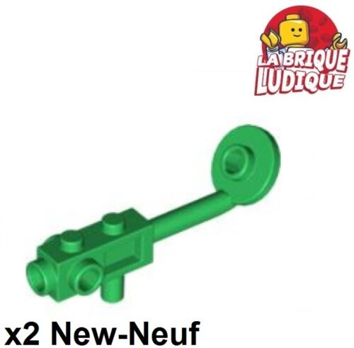 2x Minifig utensil metal detector detecteur vert//green 4479 NEUF Lego