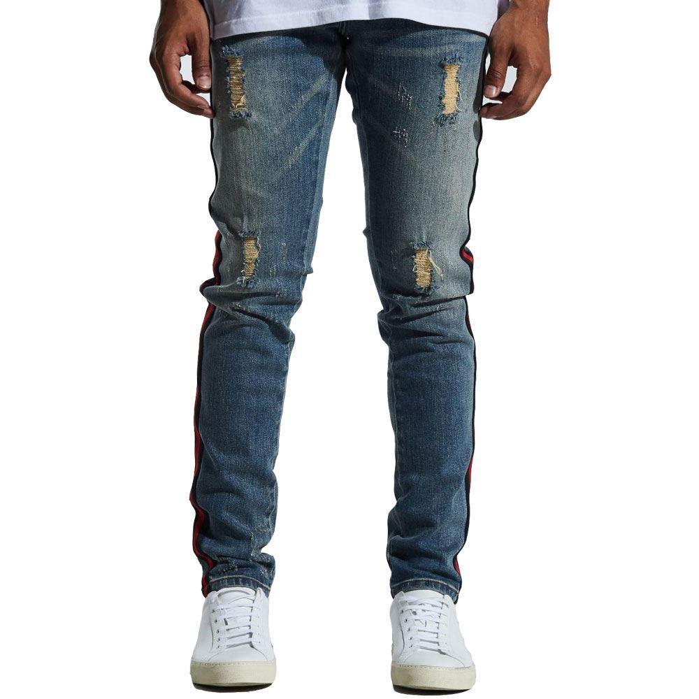 Embellish Pablo Denim Jeans in bluee