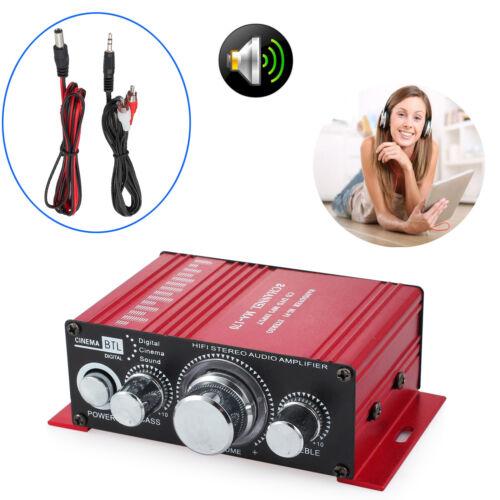 HiFi Verstärker Car Amplifier Stereo Audio Endstufe für Auto Motorrad Boot Neu