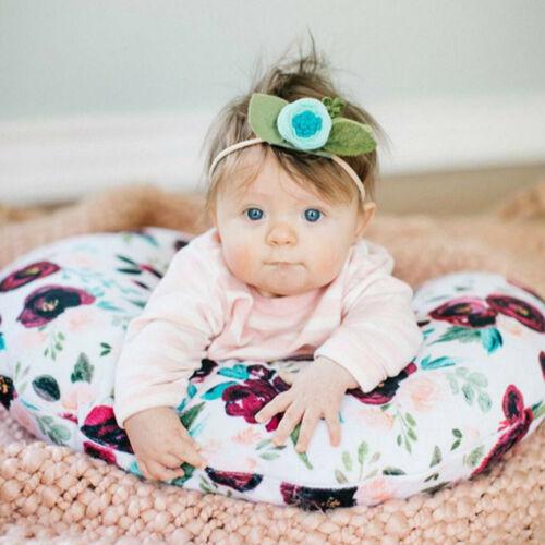 Nursing Toddler Infant Baby Breastfeeding Pillow Cover Nursing Slipcover Cotton