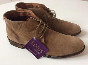Chukka 8 In Wedbury New Suede Uk Men's Lotus Brand 42 Box Boots YwtqvHUn