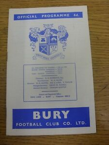 16121961 Bury v Norwich City  Light Crease Heavy Adhesive Marked On Back Cov - <span itemprop=availableAtOrFrom>Birmingham, United Kingdom</span> - Returns accepted within 30 days after the item is delivered, if goods not as described. Buyer assumes responibilty for return proof of postage and costs. Most purchases from business s - Birmingham, United Kingdom