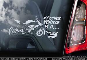 BMW-S1000R-Coche-Pegatina-Ventana-Motocicleta-Superbike-Motogp-Cartel-V01