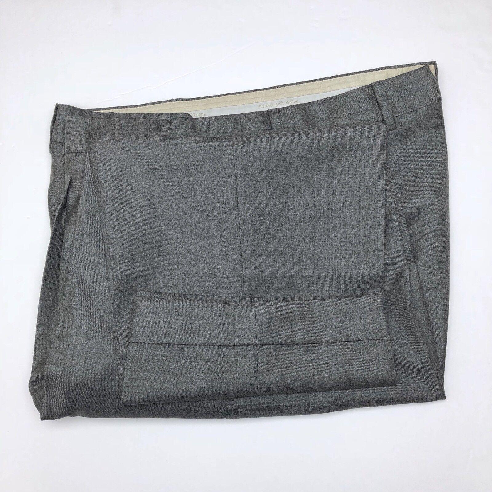 B87 Ermenegildo Zegna Pleated Wool Dress Pants Mens Size 34X24