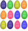 12-Plastic-Filler-Easter-Eggs-Fillable-Egg-Hunt-Decoration-Hollow-Add-Treats-Q38 thumbnail 1