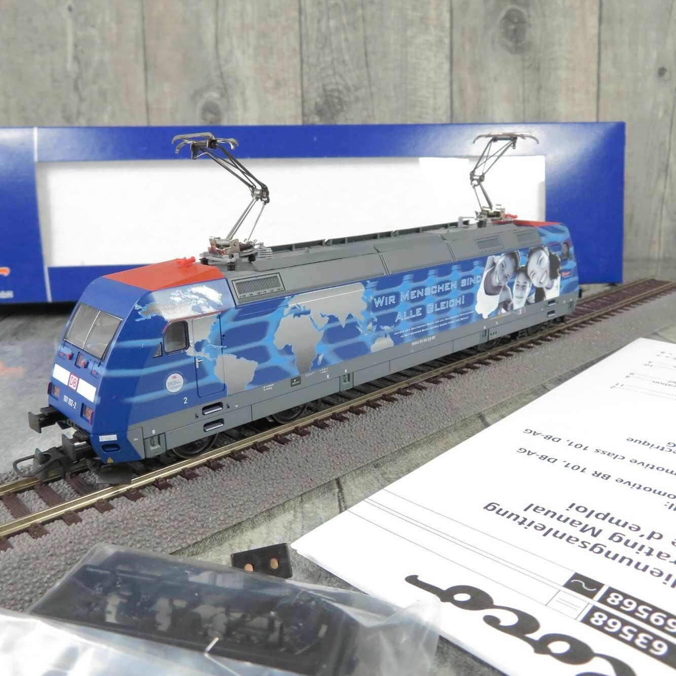 ROCO 63568 - H0 - E-Lok - DBAG 101 102-2 - Digital - OVP -  F22725