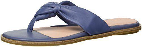 Select SZ//Color. Taryn Rose Womens Karissa Sheep Nappa Flat Sandal