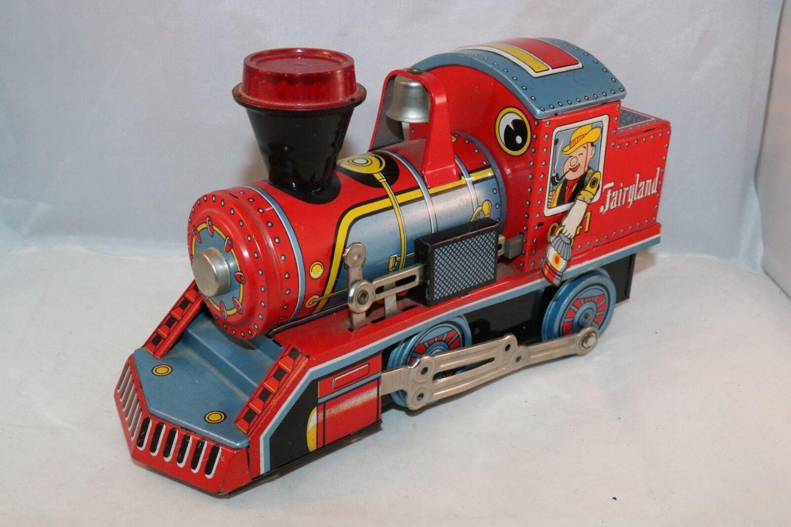 Daya Fairyland 0741 locomotive in near mint all original working condition