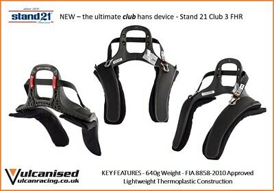 Fia Stand 21 20 Degree Club Series Hans Device Racing Race Rally Track