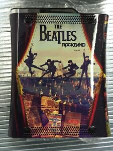 Xbox-360-Limited-Edition-Beatles-Rockband-Console-1-von-50-Made-Ultra-Rare-Konsole