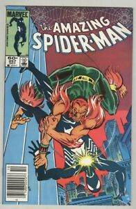 Amazing Spider-Man #257 FN 1984 Stock Image