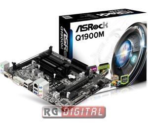SCHEDA-MADRE-ASROCK-Q1900M-CPU-INTEL-QUAD-CORE-INTEGRATO-J1900-2-GHz-2-X-DDR3