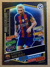 Topps Match Attax Champions League 16/17 GOLD Limited LESG Lionel Messi