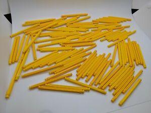 "200 KNEX YELLOW RODS 3 7//16/"" Pieces Bulk Standard K/'nex Replacement Parts Lot"