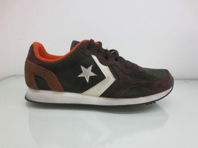 ce621c8f5c Scarpe Converse All Star Auckland Racer Leather Sneakers Uomo Pelle ...