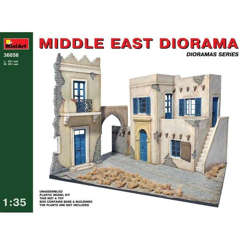 PLASTIC MODEL MIDDLE EAST DIORAMA 1 35 MINIART 36056