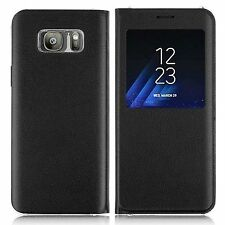 huge selection of 56644 91ddf Samsung S-view Cover for Galaxy A5 - Charcoal Black for sale online ...