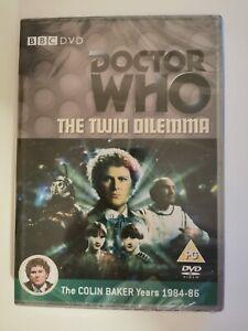 Doctor-Who-Twin-Dilemma-Colin-Baker-New-in-plastic-DVD-Region-2-Free-AU-ship