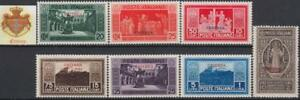 Italy-Eritrea-Montecassino-n-145-151-MNH-cv-300