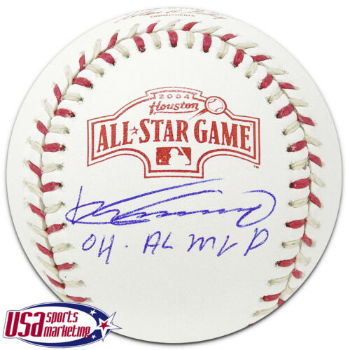 Vladimir Guerrero Angels Signed Autographed 2004 All Star Game Baseball JSA Auth