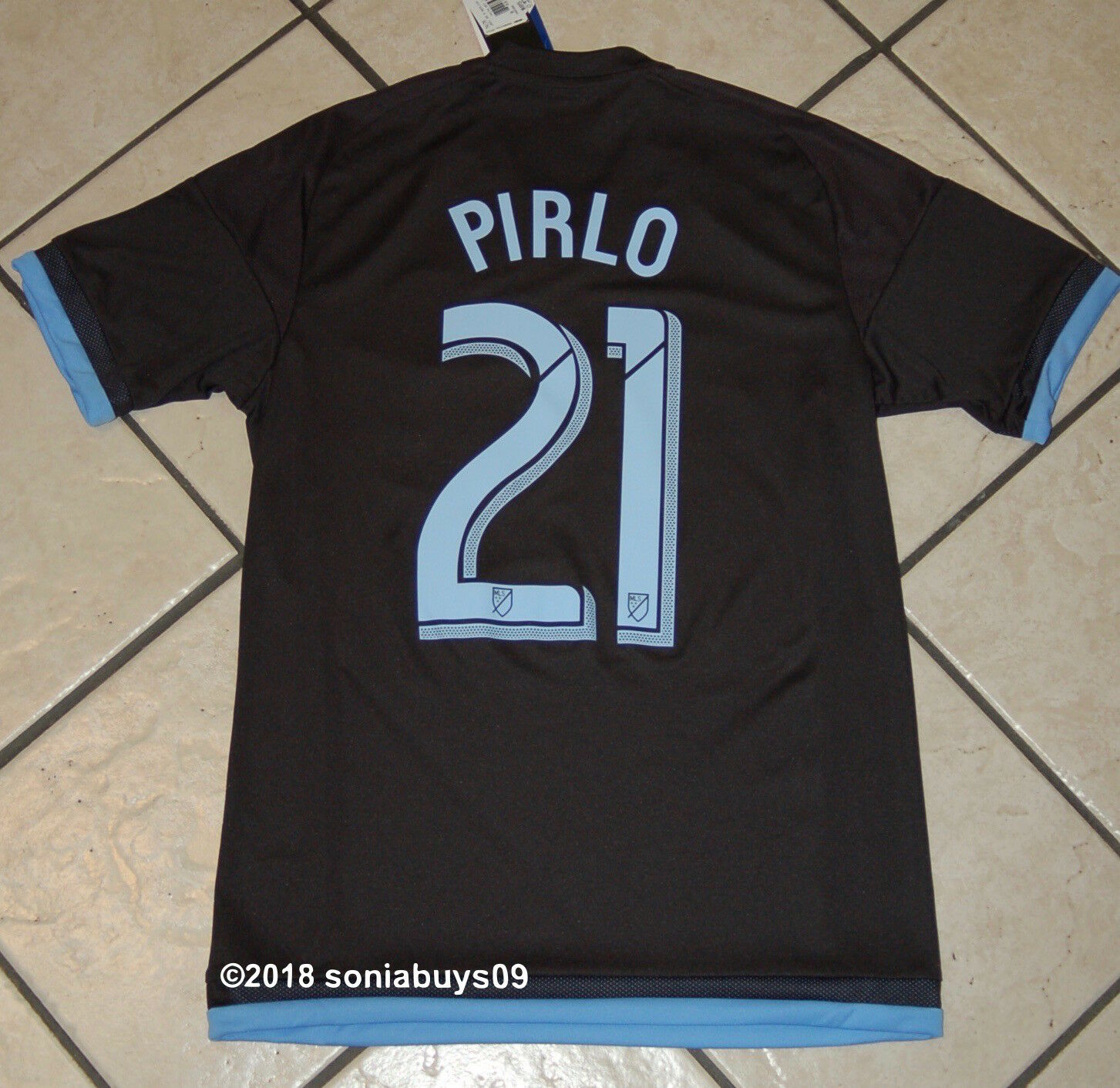 f2a4ae7ba8d Adidas Adidas Adidas Men's PIRLO MLS New York City FC Away Soccer Jersey,  S88388, US Size L 3d46e7