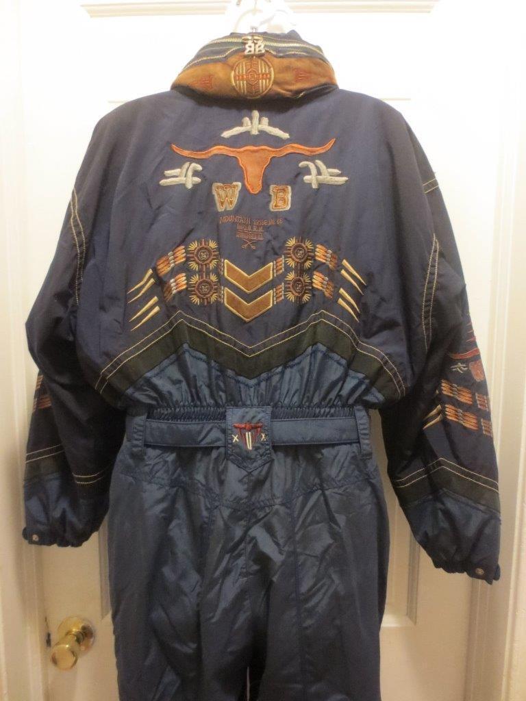 BOGNER MOUNTAIN TRIBE Southwestern Native American INDIAN Ski SNOWSUIT Coat 12