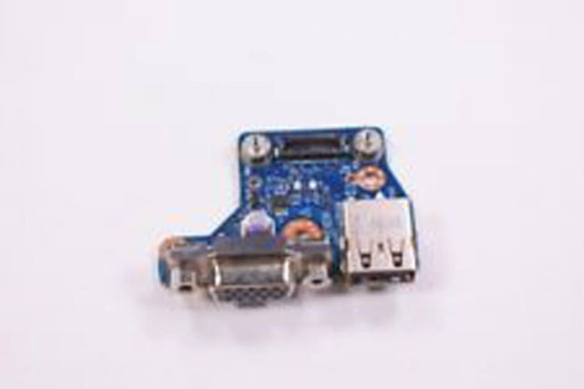 Original Dell Latitude E6440 VGA USB Daughterboard 28X5F 028X5F VAL90 LS-9938P