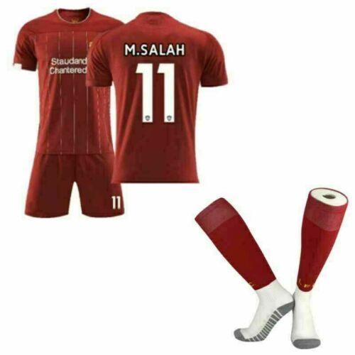 19-20Kit+Socken Erwachsene Fußball Trikot Sets Kinder 3-14 Y Jungen Sport Jersey