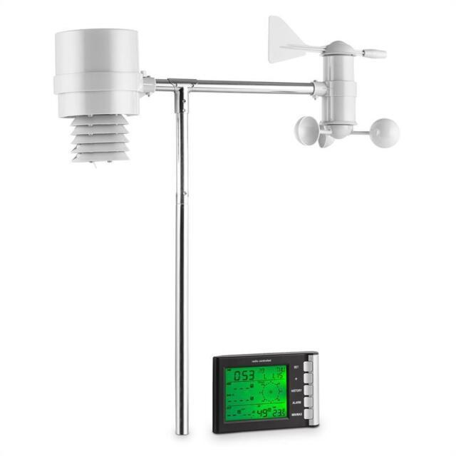 Station météo sans fil prévision Numérique affichage LCD extérieur 4 CAPTEURS