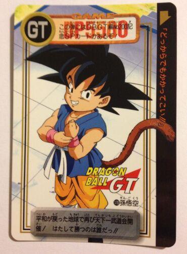 Dragon Ball GT Carddass Hondan DP 178