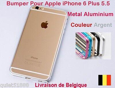 BUMPER METAL ALUMINIUM HOUSSE COQUE étui POUR IPHONE 6 Plus Argent   eBay