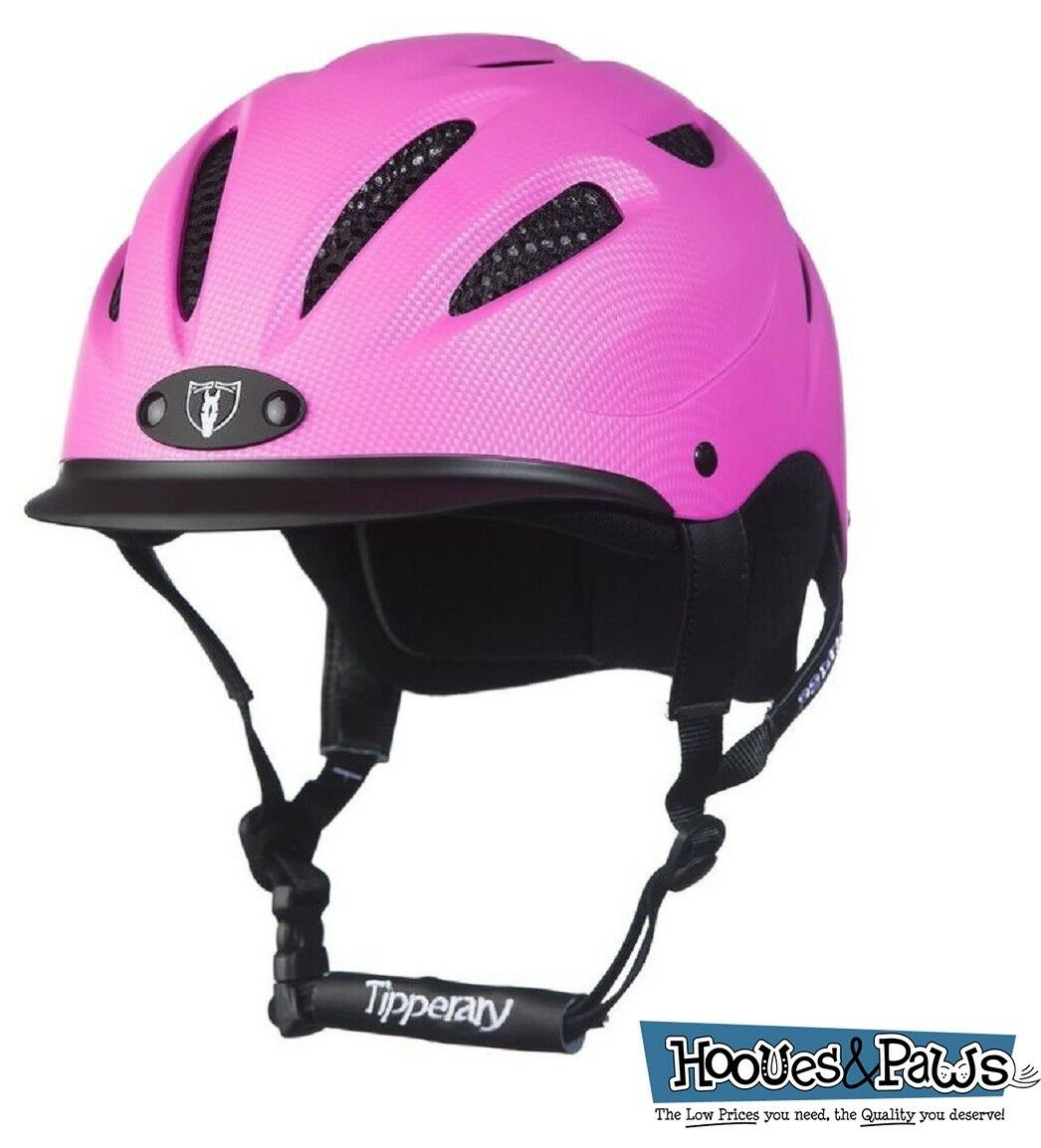 Tipperary  Sportage Western Riding Helmet Low Profile Horse Safety Pink  exciting promotions