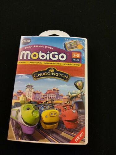 Vtech MobiGo Chuggington Game Cartridge NEW Ages 3-5 years old