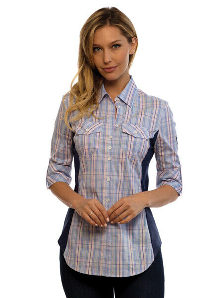Goode Rider Perfect Shirt in bluee Plaid