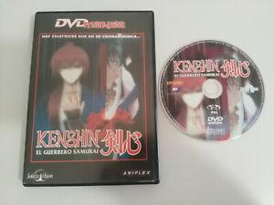 KENSHIN-EL-GUERRERO-SAMURAI-EPISODIOS-1-4-DVD-EXTRAS-ESPANOL-ENGLISH