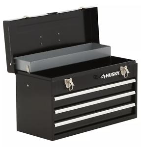 Attirant Details About 3 Drawer Tool Box Portable Chest Cabinet Storage Organization  Heavy Duty Steel