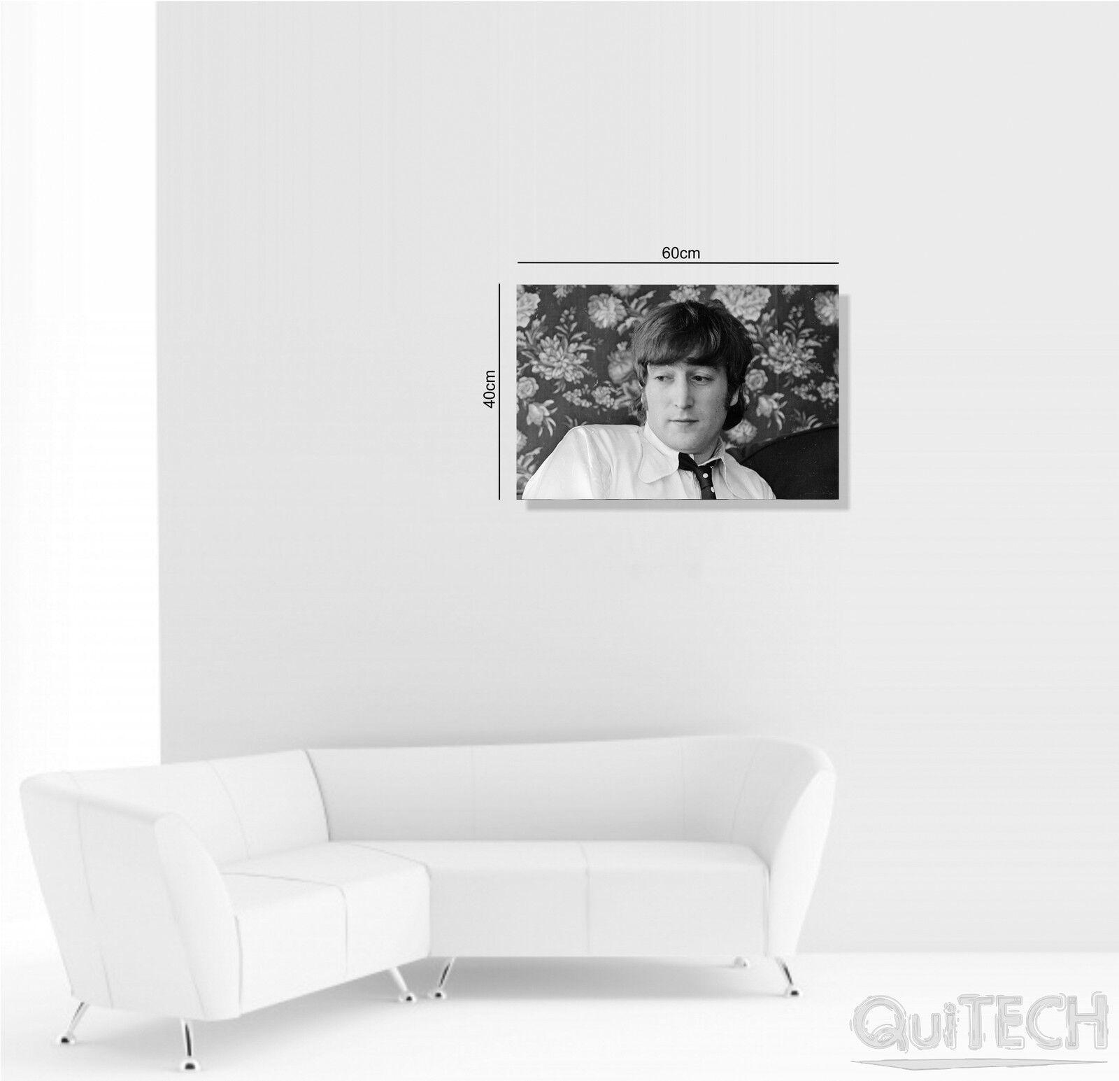 John Lennon - 3 - stampa Quadro stampa - su Tela Pelle Canvas Dipinto Arte Moderna 183d7e