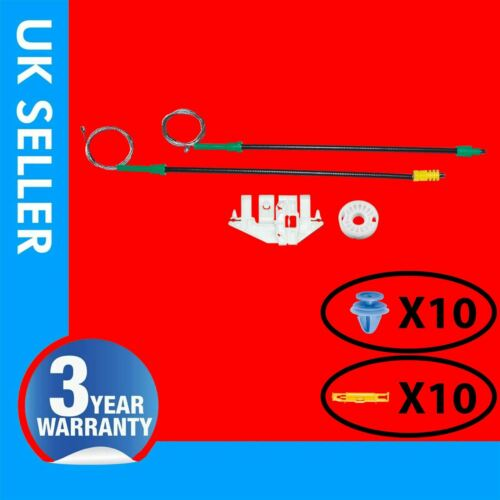 FOR PEUGEOT 406 WINDOW REGULATOR REPAIR KIT FRONT LEFT HAND SIDE