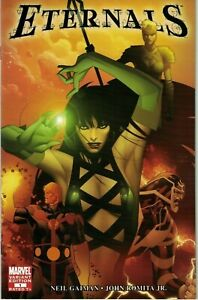 Eternals-1-NM-Marvel-2006-1-10-Coipel-Variant-Sersi-Icarus-New-Movie-Gaiman