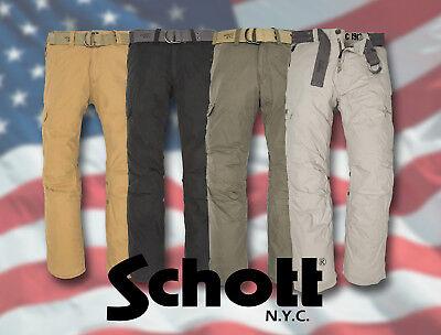 71005 SCHOTT NYC CARGO PANTS USA COMBAT TROUSERS