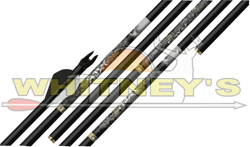 Hexx Carbono Easton mm flechas .001 rectitud 2 en paletas