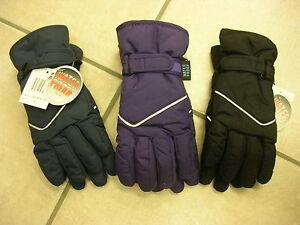 Klug Handschuhe, Fingerhandschuhe, Waterproof, Schwarz Oder Lila Oder Rauchblau