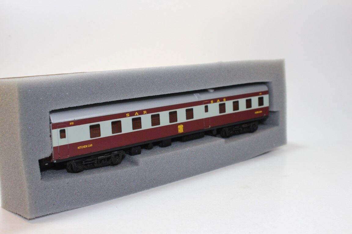 South African Azul modelo de tren  Cochero de cocina AA-38 (Lima acopladores)