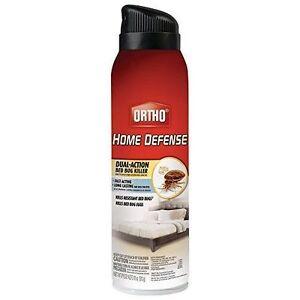 Ortho Bed Bug Fleas Dust Mites Home Defense Aerosol Spray 18 Oz