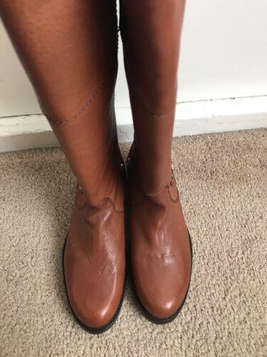 Madden taille en Bottes 6 hautes marron cuir 5 Steve gq14wUq