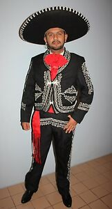 456915b45 Mexican Mariachi Men Suit Size 36 From Mexico 6 Piece Set.Traje ...